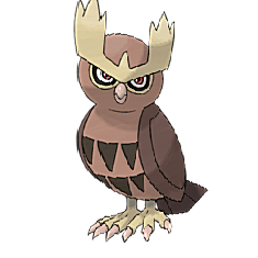 Noctowl for Pokemon Go Map, Evolution, Simulators