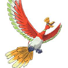 Ho-Oh for Pokemon Go Map, Evolution, Simulators