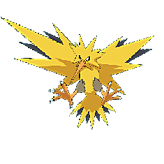 Zapdos for Pokemon Go Map, Evolution, Simulators