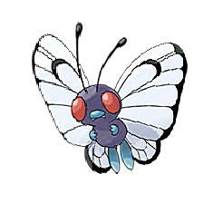 Butterfree for Pokemon Go Map, Evolution, Simulators