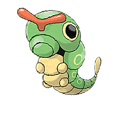 Caterpie for Pokemon Go Map, Evolution, Simulators
