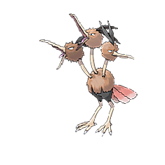 Dodrio for Pokemon Go Map, Evolution, Simulators