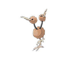 Doduo for Pokemon Go Map, Evolution, Simulators