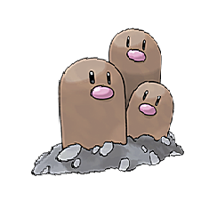 Dugtrio for Pokemon Go Map, Evolution, Simulators