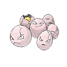 Exeggcute for Pokemon Go Map, Evolution, Simulators