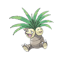 Exeggutor for Pokemon Go Map, Evolution, Simulators