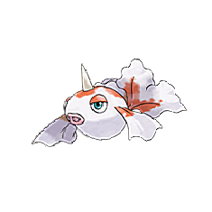 Goldeen for Pokemon Go Map, Evolution, Simulators