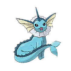 Vaporeon for Pokemon Go Map, Evolution, Simulators